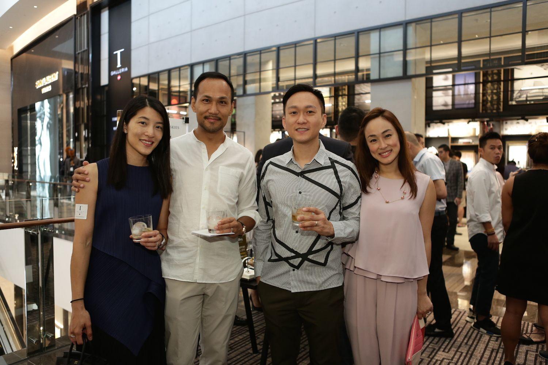 Della Yu, Kelvin Ko and Jason and Lina Tan