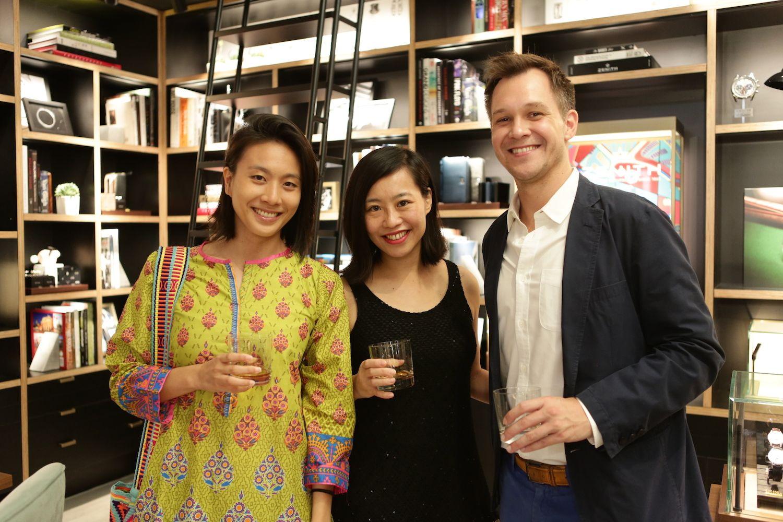 Natalie Chan, Xania Wong and Tony Verb