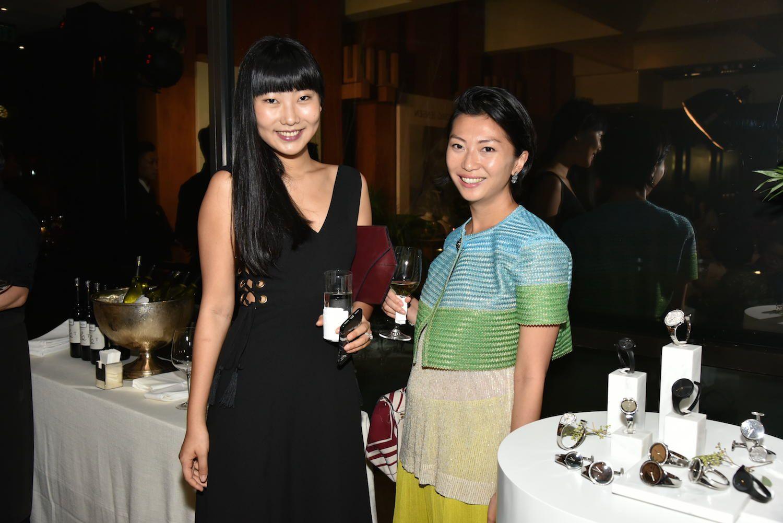 Nydia Zhang and Laura Cheung