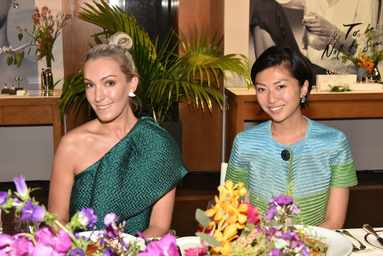 Olivia Croucher Buckingham and Laura Cheung