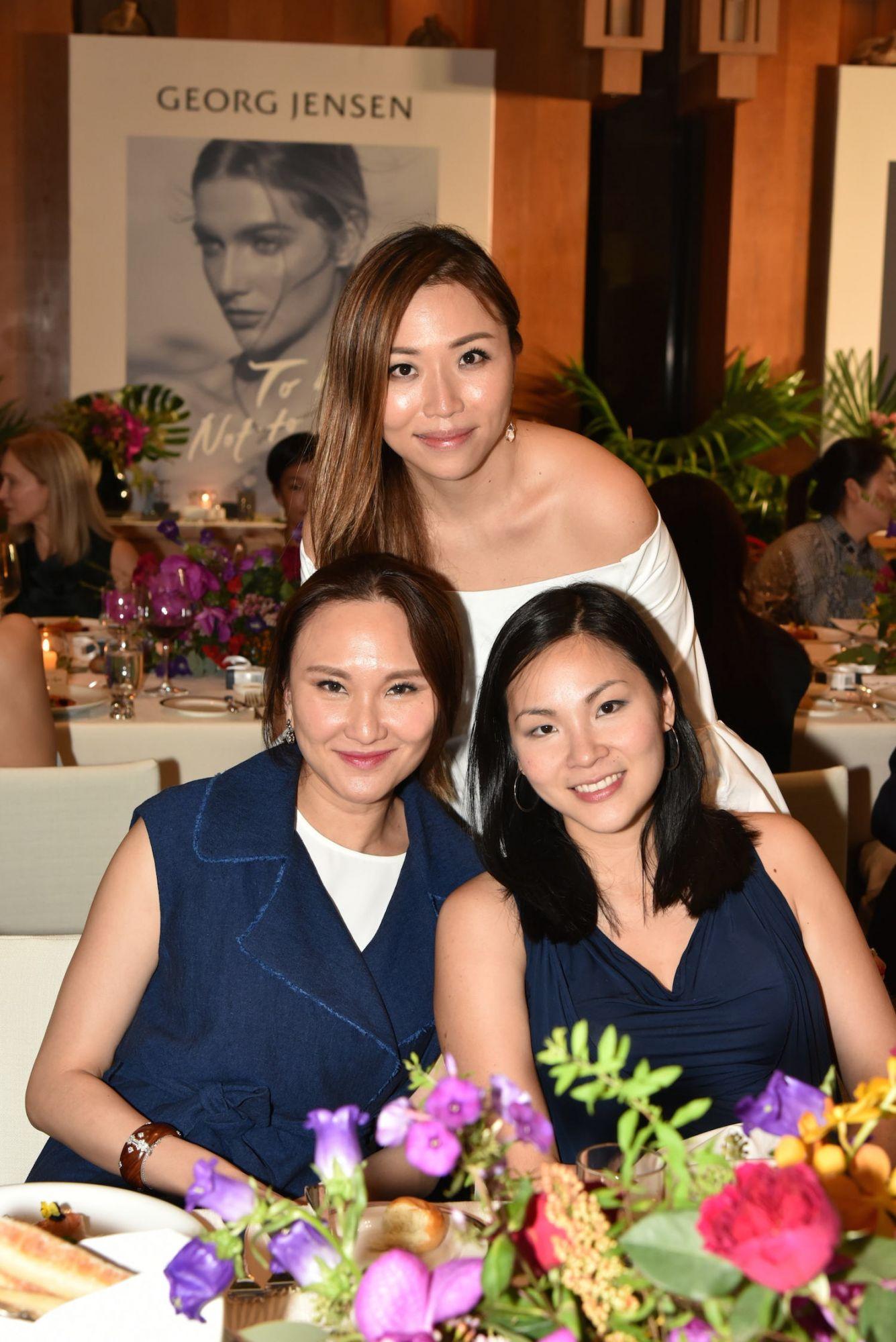 Samantha Shek, Nancy Fung and Jaclyn Tsang