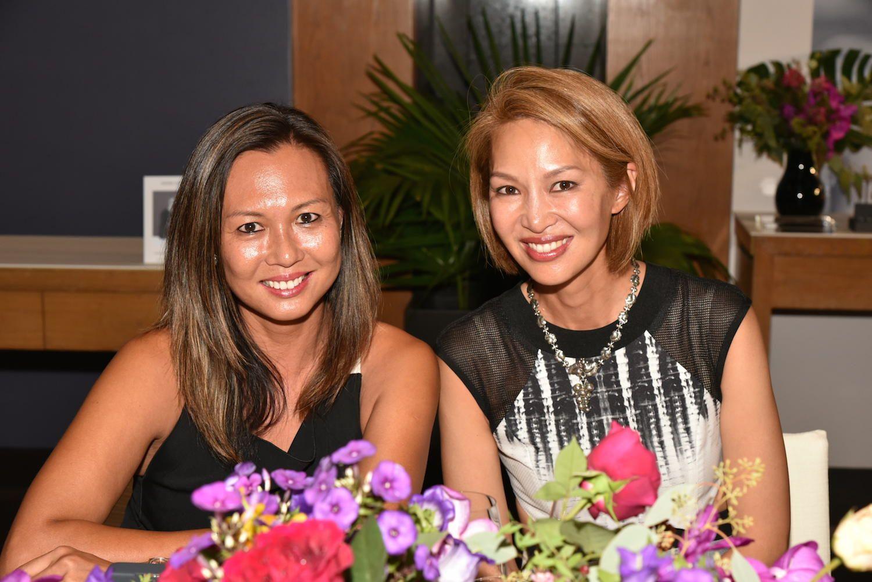 Sylvia Tang and Yolanda Choy-Tang