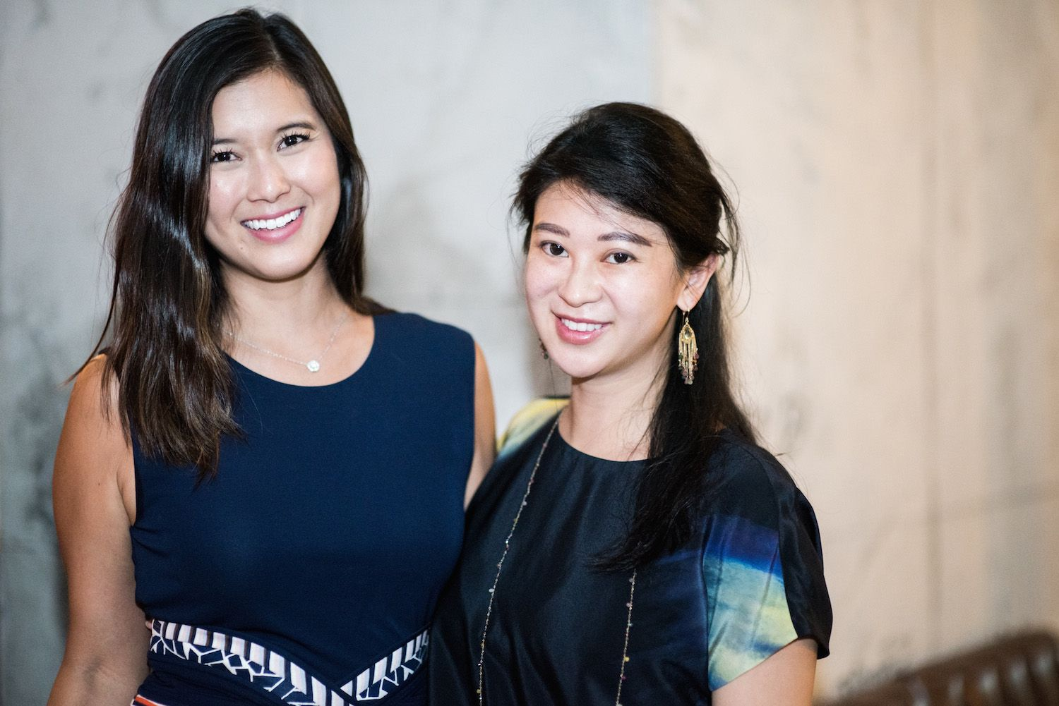 Kelly Oki and Christy Liang