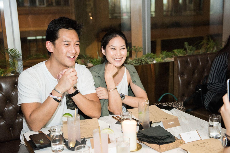 Alby Chung and Joanna Liu