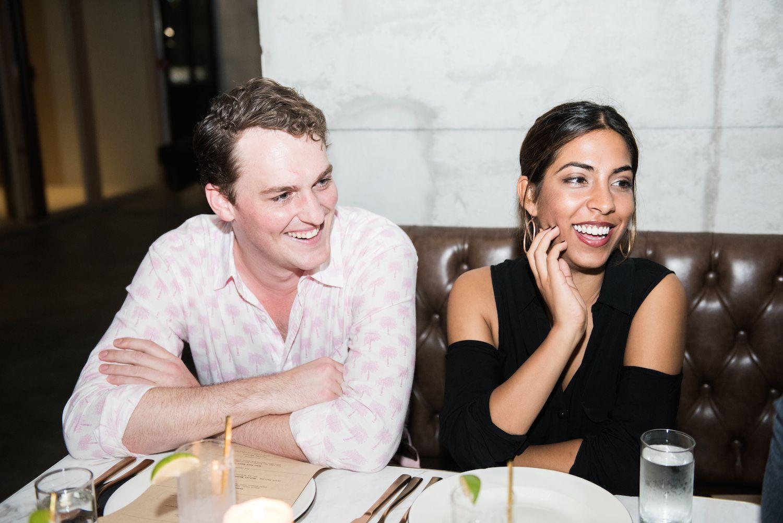Bertram Weatherall and Nadia Harilela
