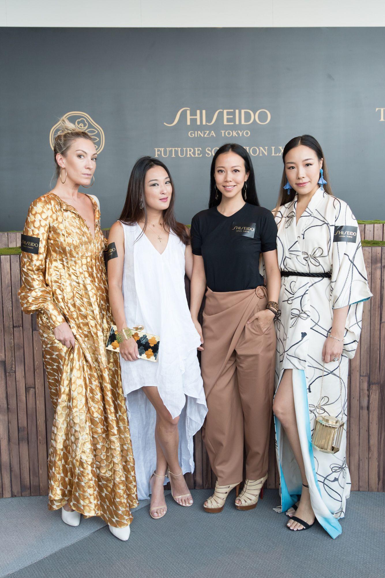 Olivia Croucher Buckingham, Antonia Li, Claudine Ying and Feiping Chang