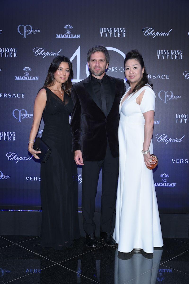 Michele Li, Kape Sieber, Candice Suen-Sieber