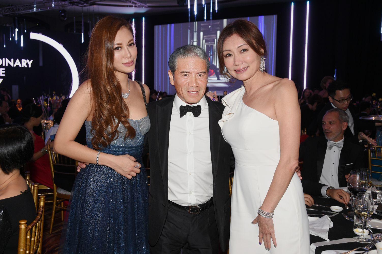 Eleanor Lam, Tony Cruz, Paulene Cruz