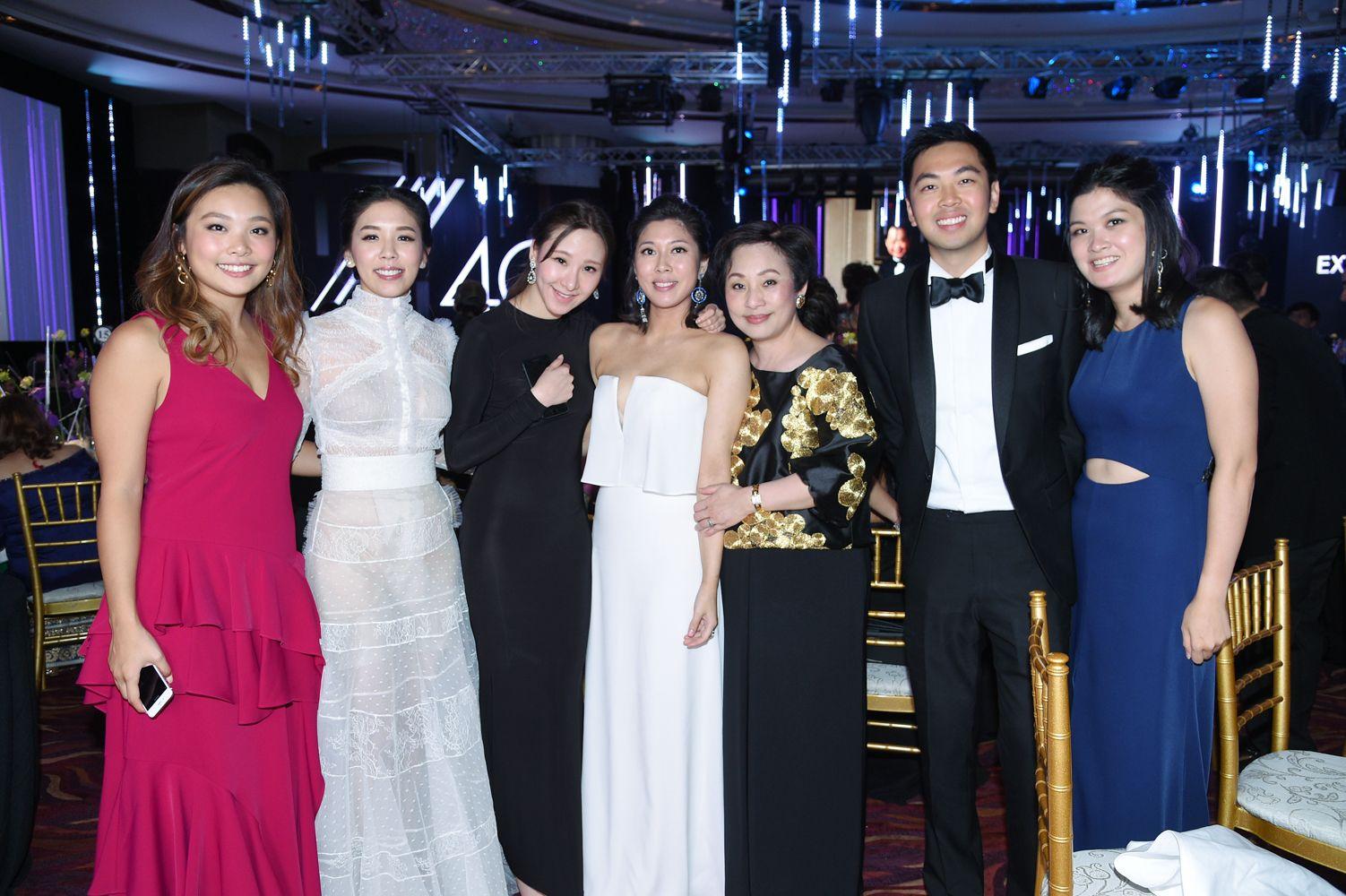 Jenny Lam, Carmen Yim, Stephnie Shek, Amanda Cheung, Nina Lam, Adrian Cheung, Jennifer Cheung