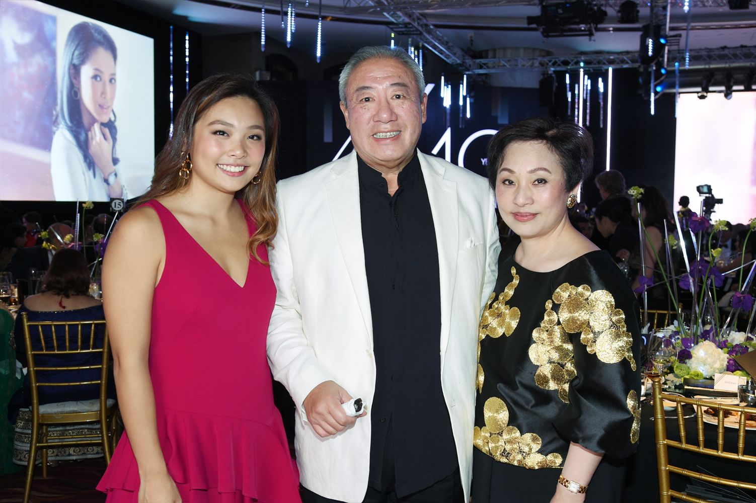 Jenny Lam, William Ma, Nina Lam