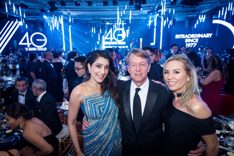 Tania Mohan, Ken Hitchner, Annabelle Bond