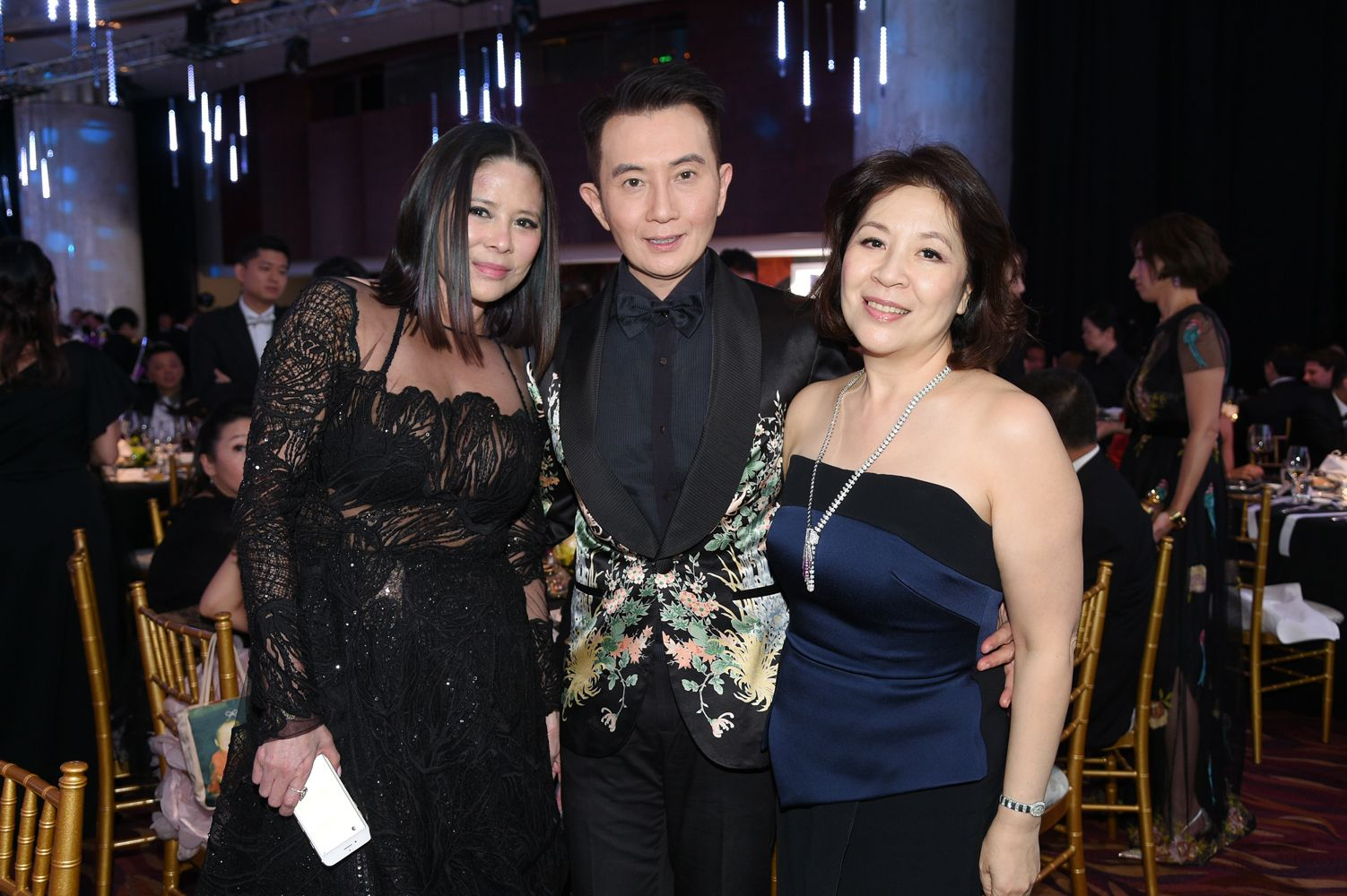 Yvette Yung, Charles Yang, Maria Wu