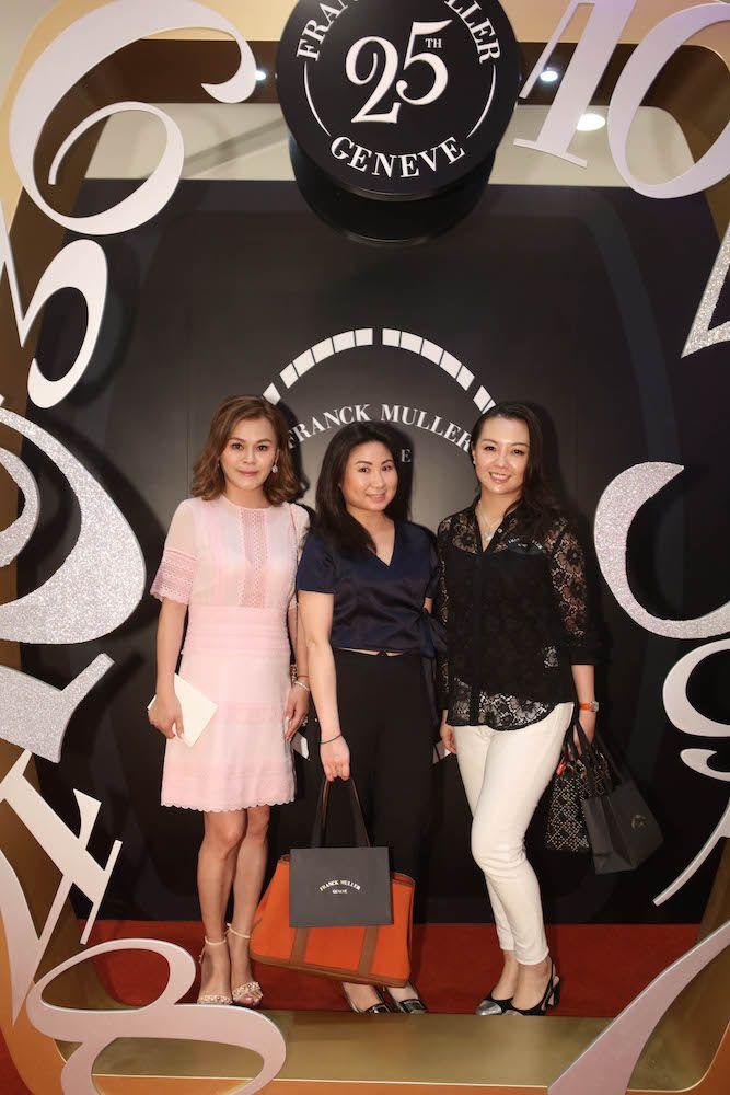 Clara Chim, Gloria Lo and Tammy Wu