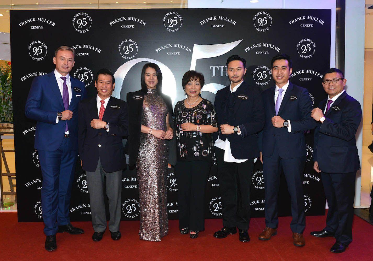 Nicholas Rudaz, Nicholas Chu, Myolie Wu, Pollyanna Chu, Julian Cheung, Kingston Chu, Francis Phua
