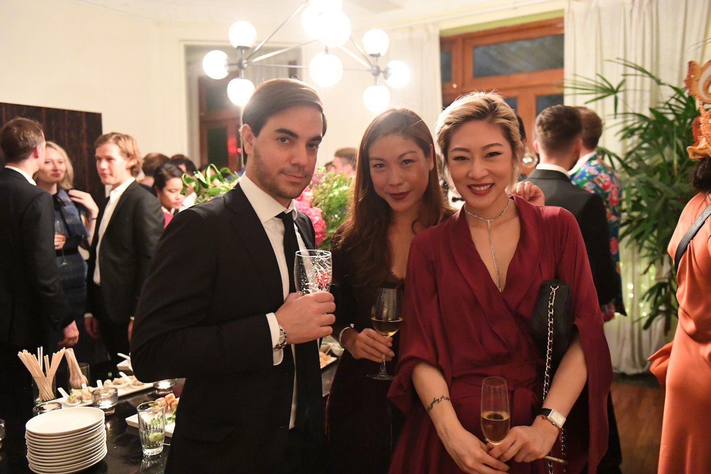 Stefan Rihs, Charade Woo, Yvonne Fong