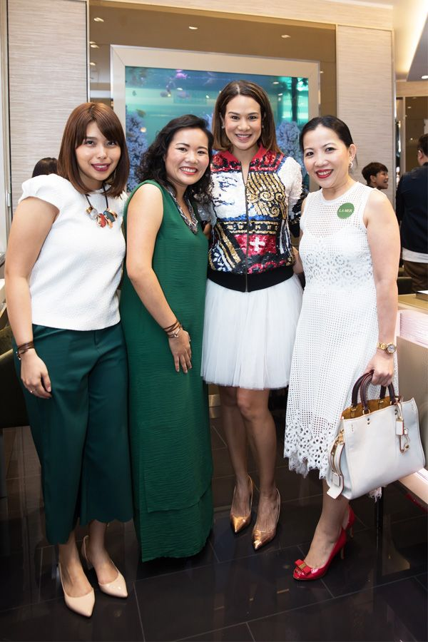 Aruna Puspalingam, Kung Suan Lay, Datin Elaine Daly and Kung Suan Ai