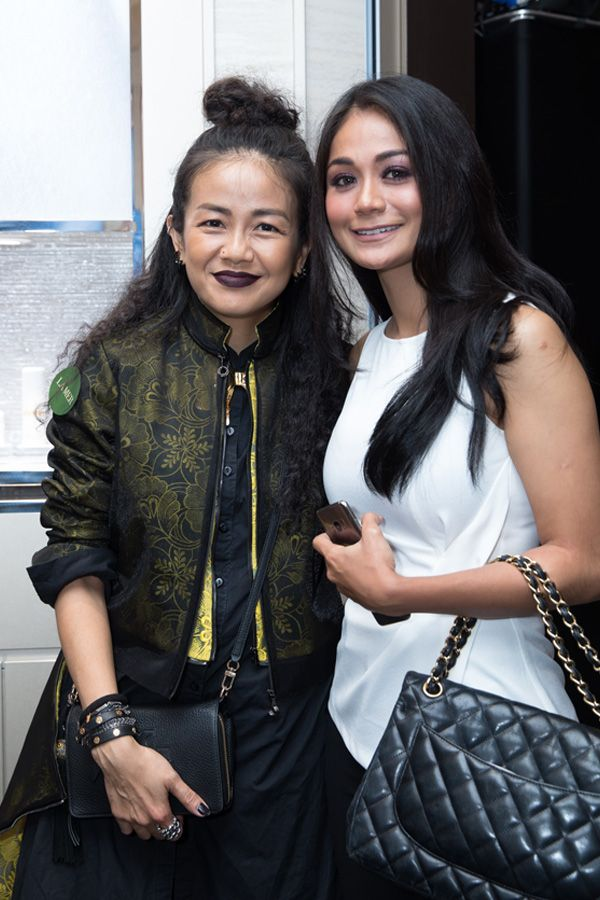 Melinda Looi and Tasha Shilla