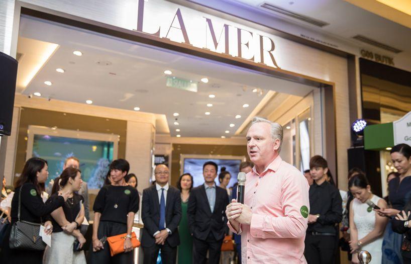 Paul Slavin,MD Estee Lauder Companies Malaysia