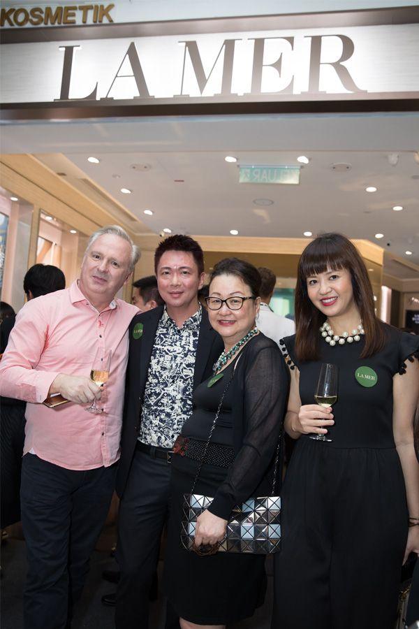 Paul Slavin, Lovell Ho, Joyce Yap and Doreena Chew