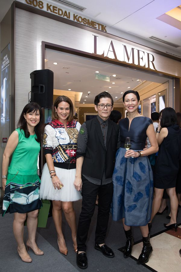 Yap Su Lin,Datin Elaine Daly, Andrew Tan and Bernie Chan