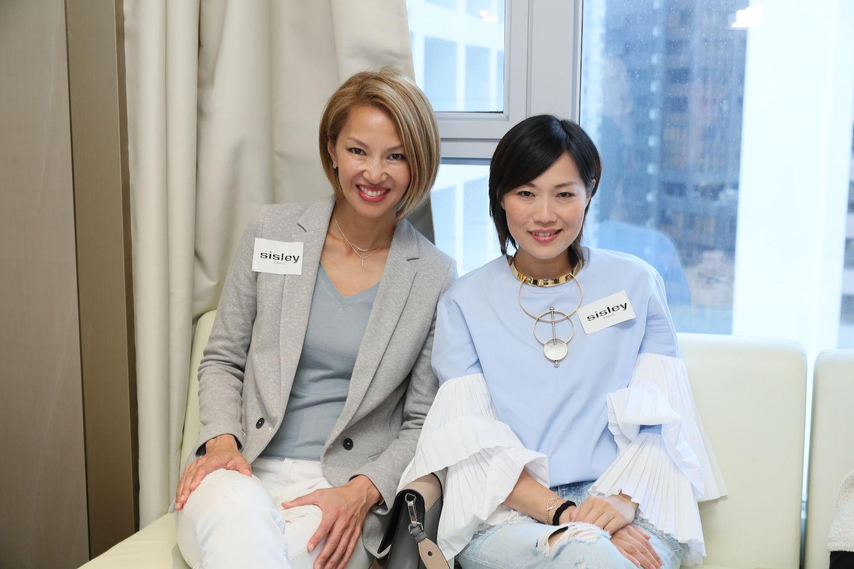 Yolanda Choy-Tang and Tansy Lau-Tom