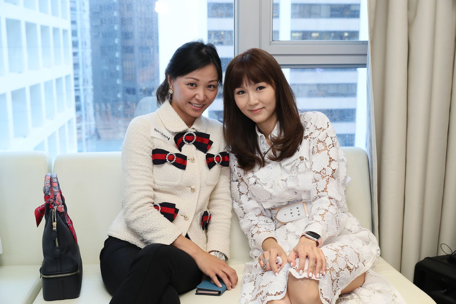 Michelle Cheng-Chan and Helena Pong