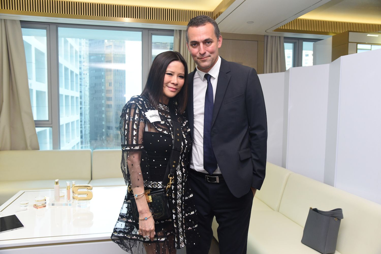 Yvette Yung and Nicolas Chesnier