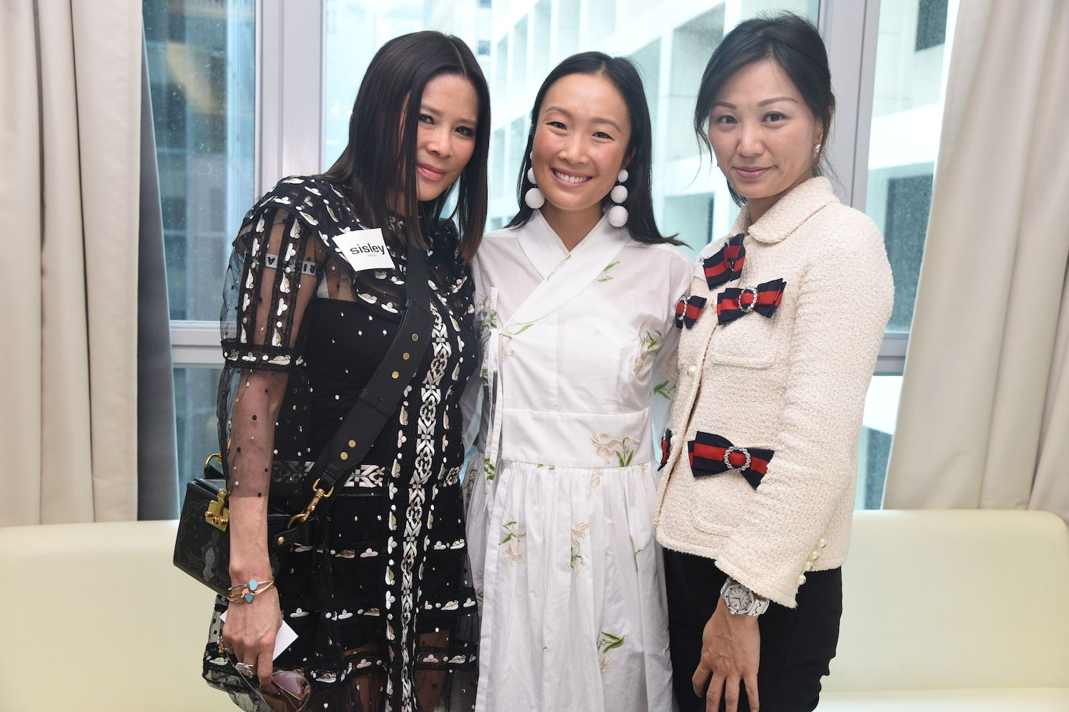 Yvette Yung, Chelsea Chau-Kuok and Michelle Cheng-Chan