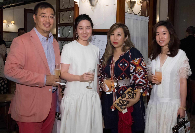 Andrew Kinoshita, Karen Ma, Lumen Kinoshita and Amy Chee