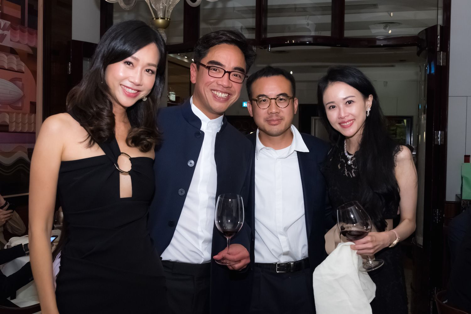 Angie and Ivan Ting, Donald Man and Jacqueline Chow