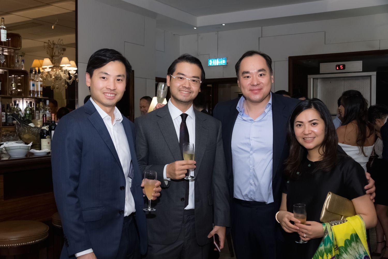 Honus Tandijono, Holic Tandijono, Eric Zhang and Kanika Tandijono