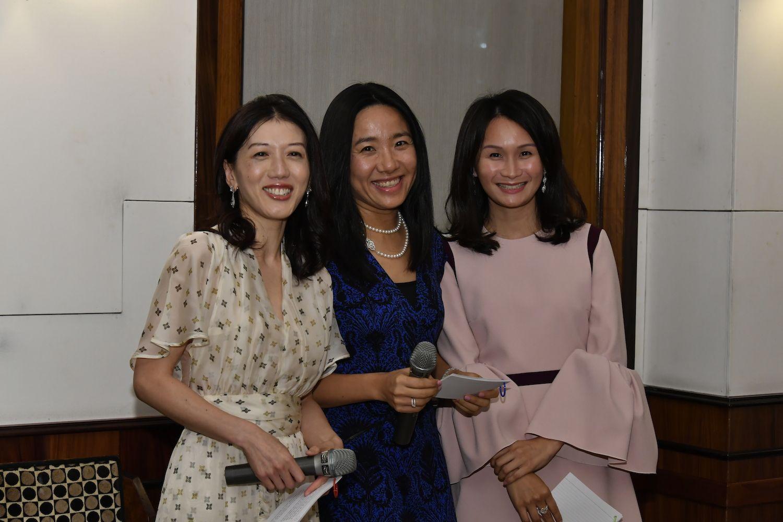 Amy Chan, Charlotte Wong and Tania Lau