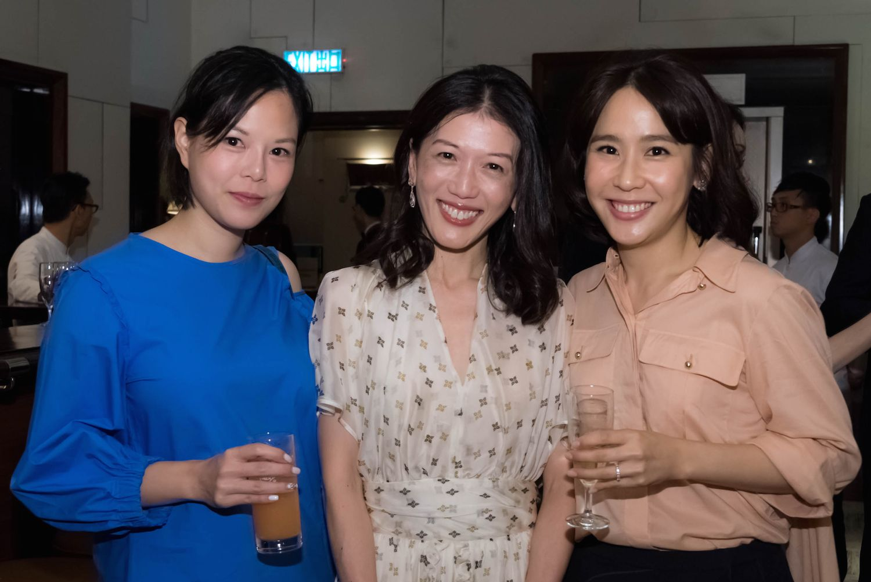 Derice Fung, Amy Chan and Christina Tse