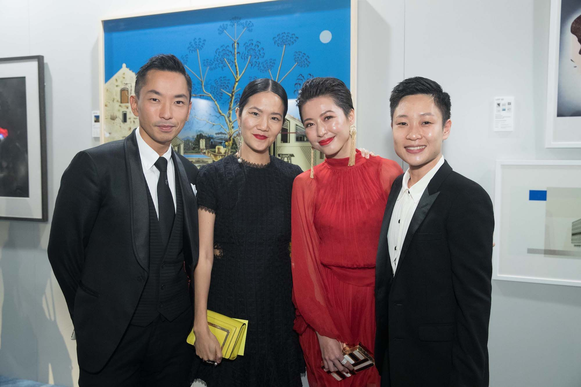 Anson Shum, Grace Lam, Leslie Tang, Bastian Wong