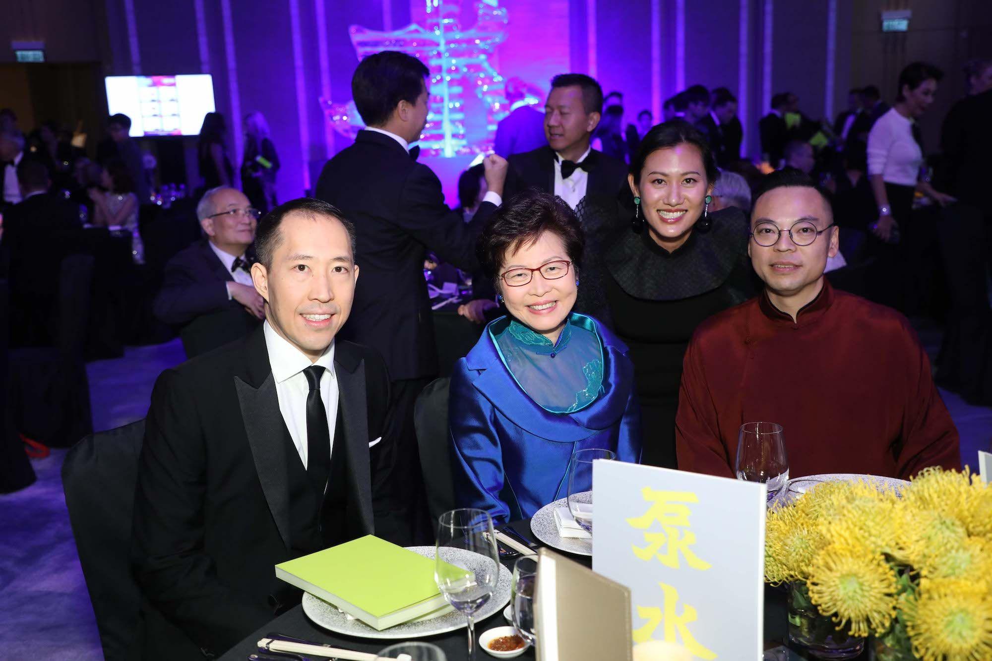 Darryl Ng, Carrie Lam, Marisa Yiu, Alan Lo