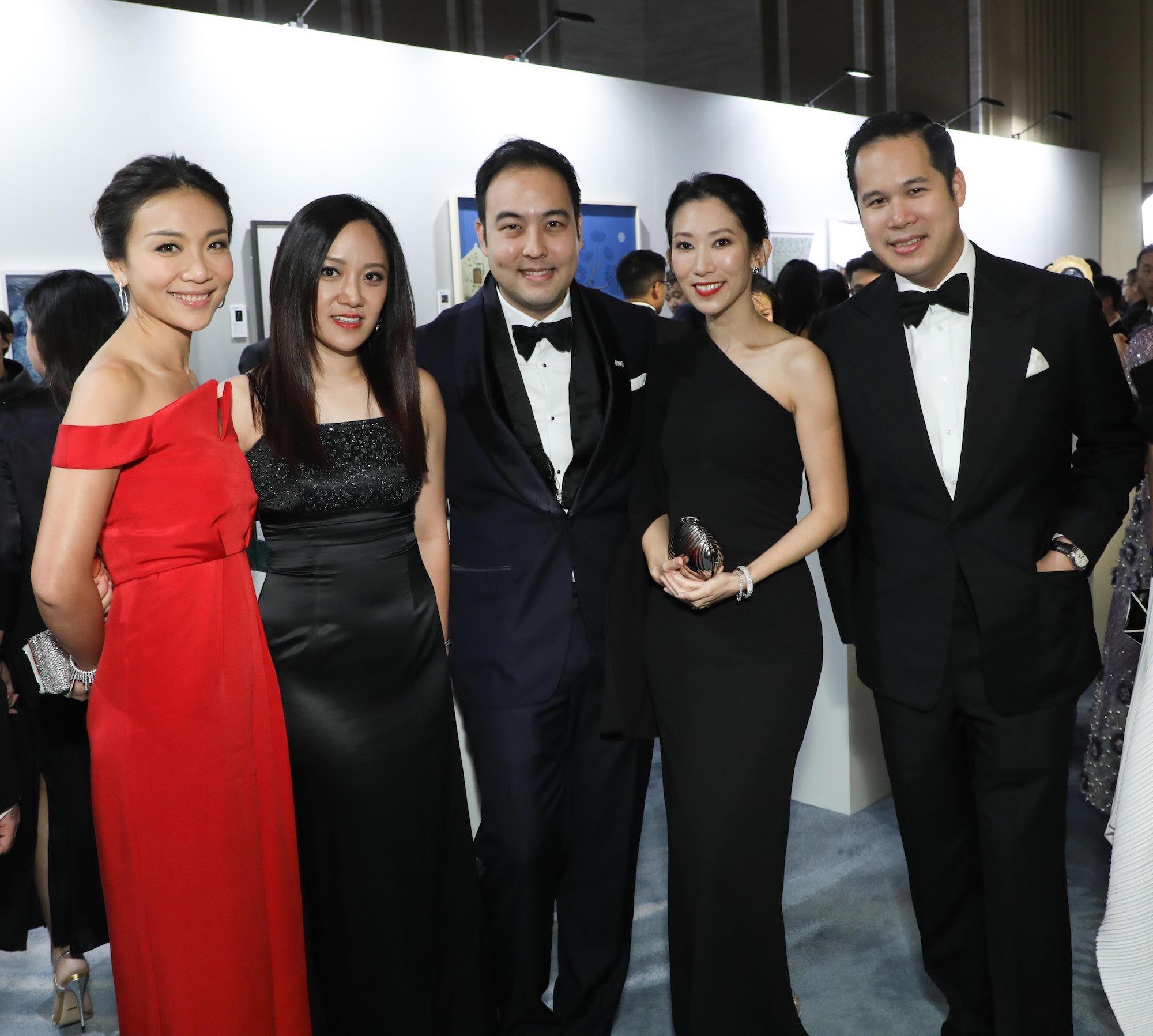 Jacqueline Sun, Jenny Chau, Leonard Chao, Candice Chan, Brandon Chau