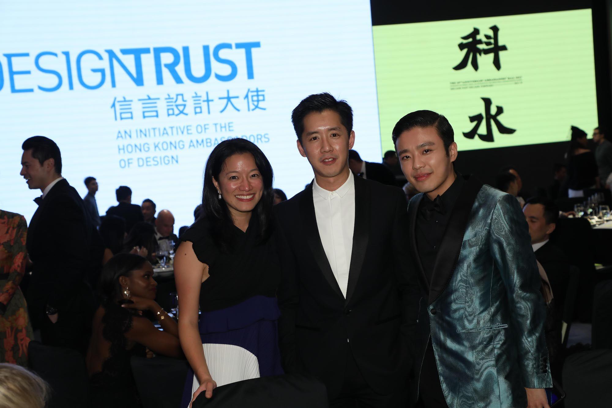 Lilian Kiang, André Fu, Jonathan Cheung