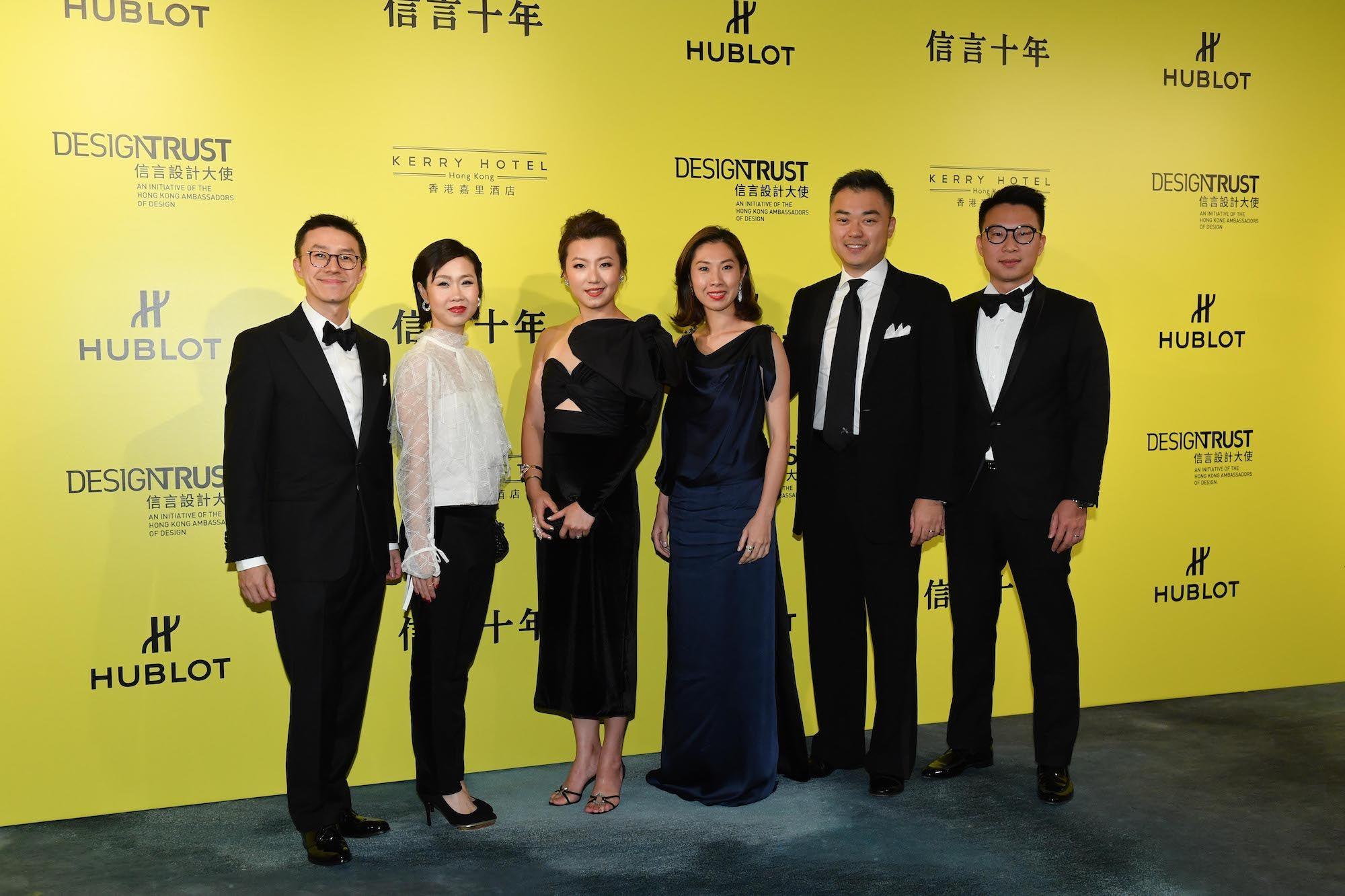 Darrin Woo, Bonnie Chan-Woo, Vivian Fong, Natalie Chan-Chu, Frederick Fong, Lawrence Chu