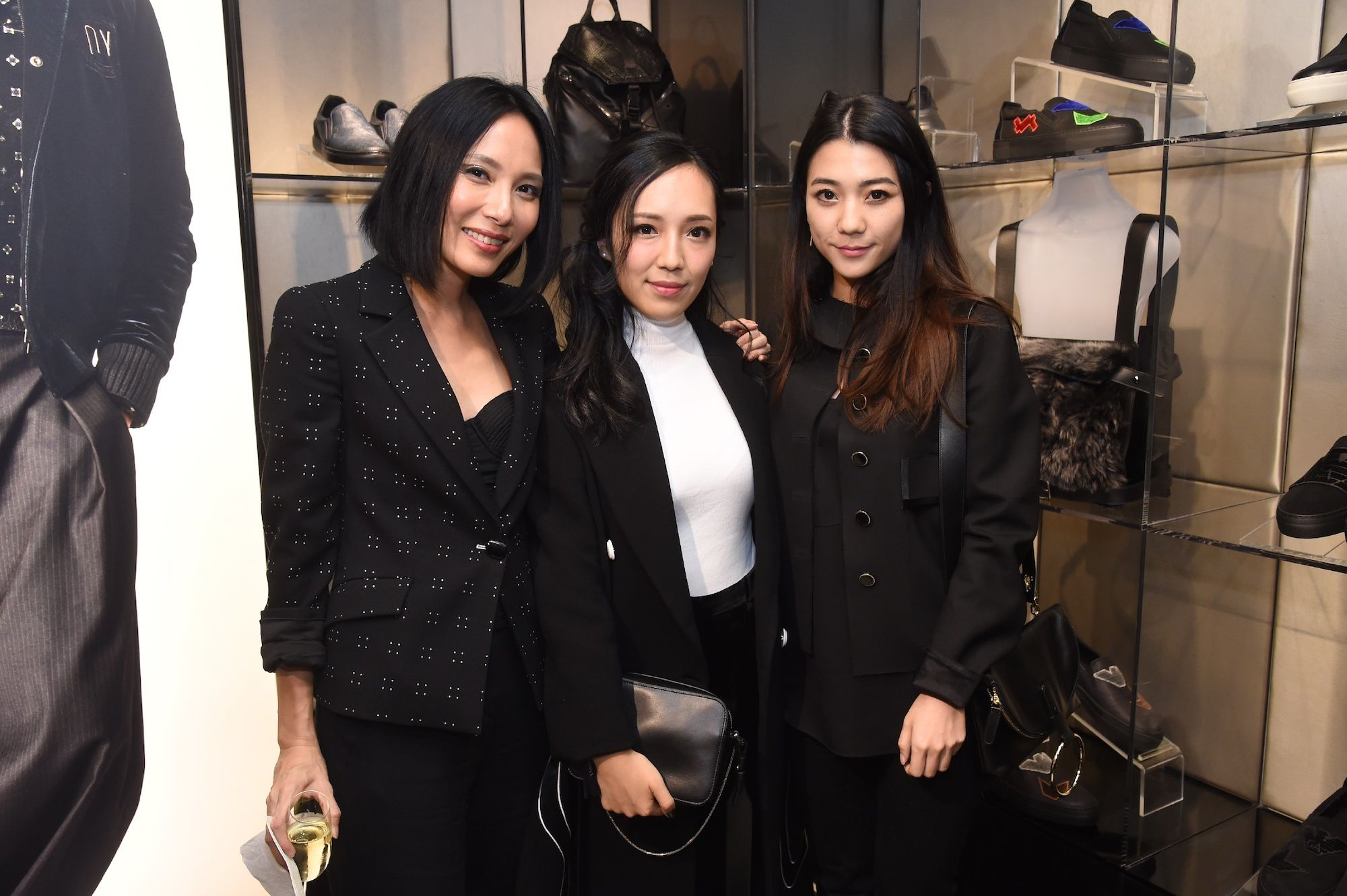 Jaime Ku, Christine Fok, Vincy Yeung