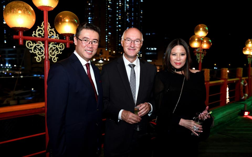 Andrew Yuen, Eric Berti, Yvette Yung