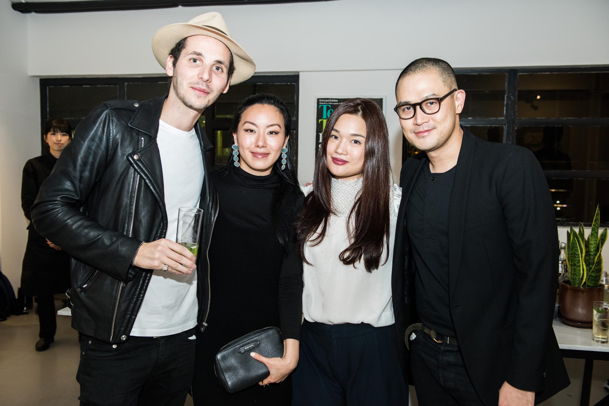 Greg McNamara, Ruth Chao, Queenie Rosita Law, Fed Tan