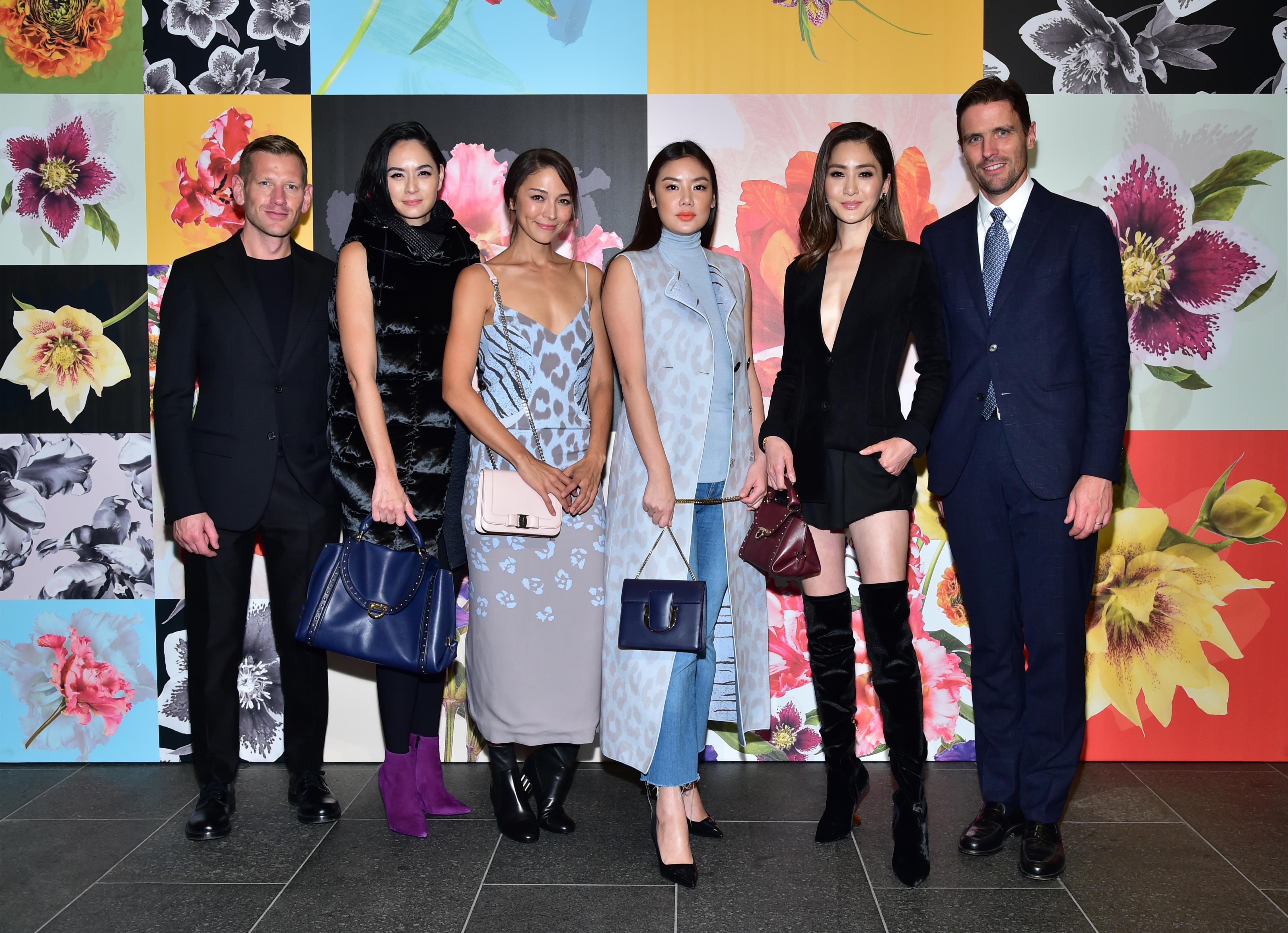 Paul Andrew, Ana R, Cara G, Gaile Lok, Kathy Chow, James Ferragamo