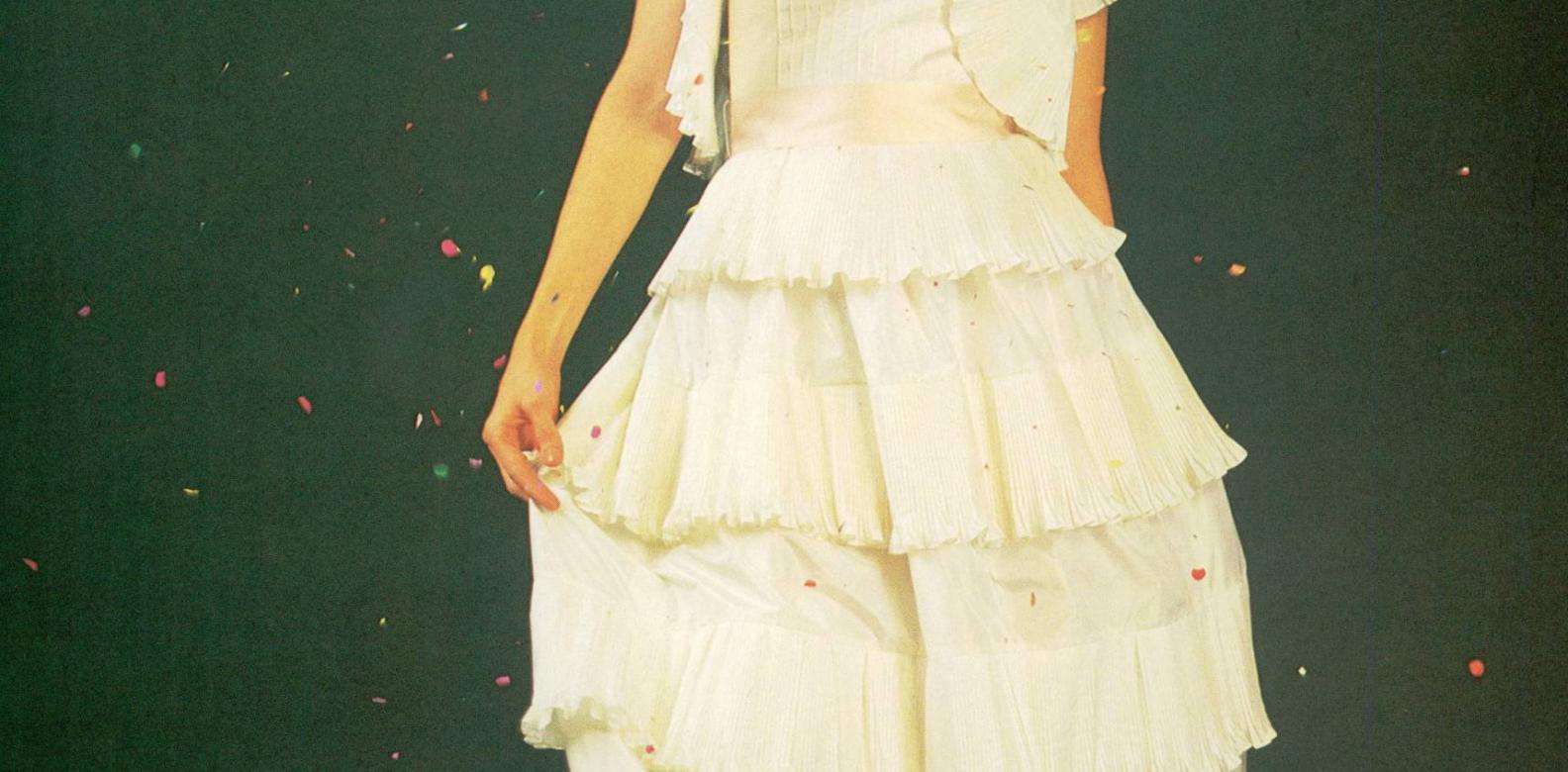 Wedding cake dress