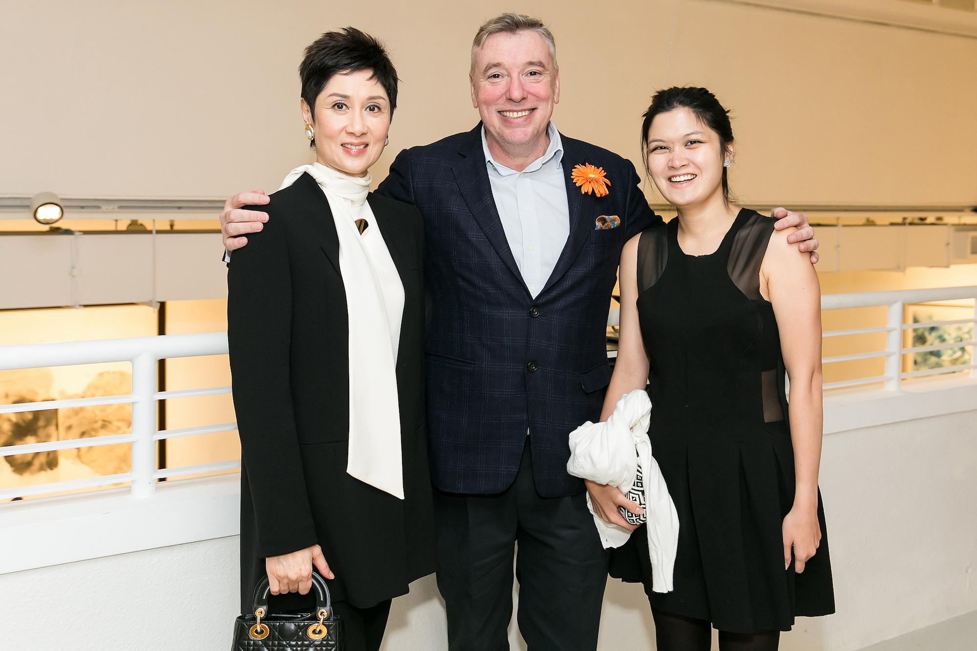 Michelle Ong, Mark Peaker, Jennifer Cheung