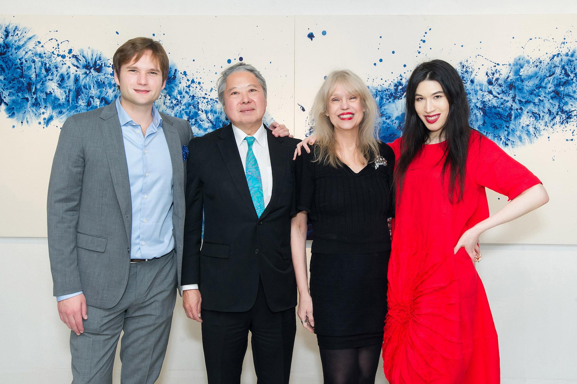 Trevor Ho, George Ho, Paulette Ho, Chloe Ho