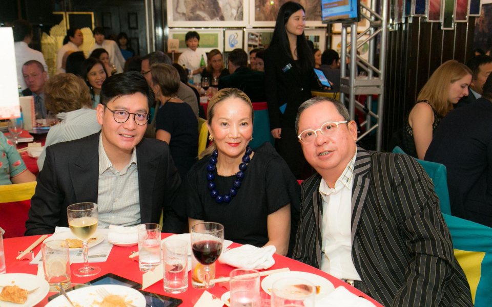 Brian Li, Reina Chau, Peter Lam