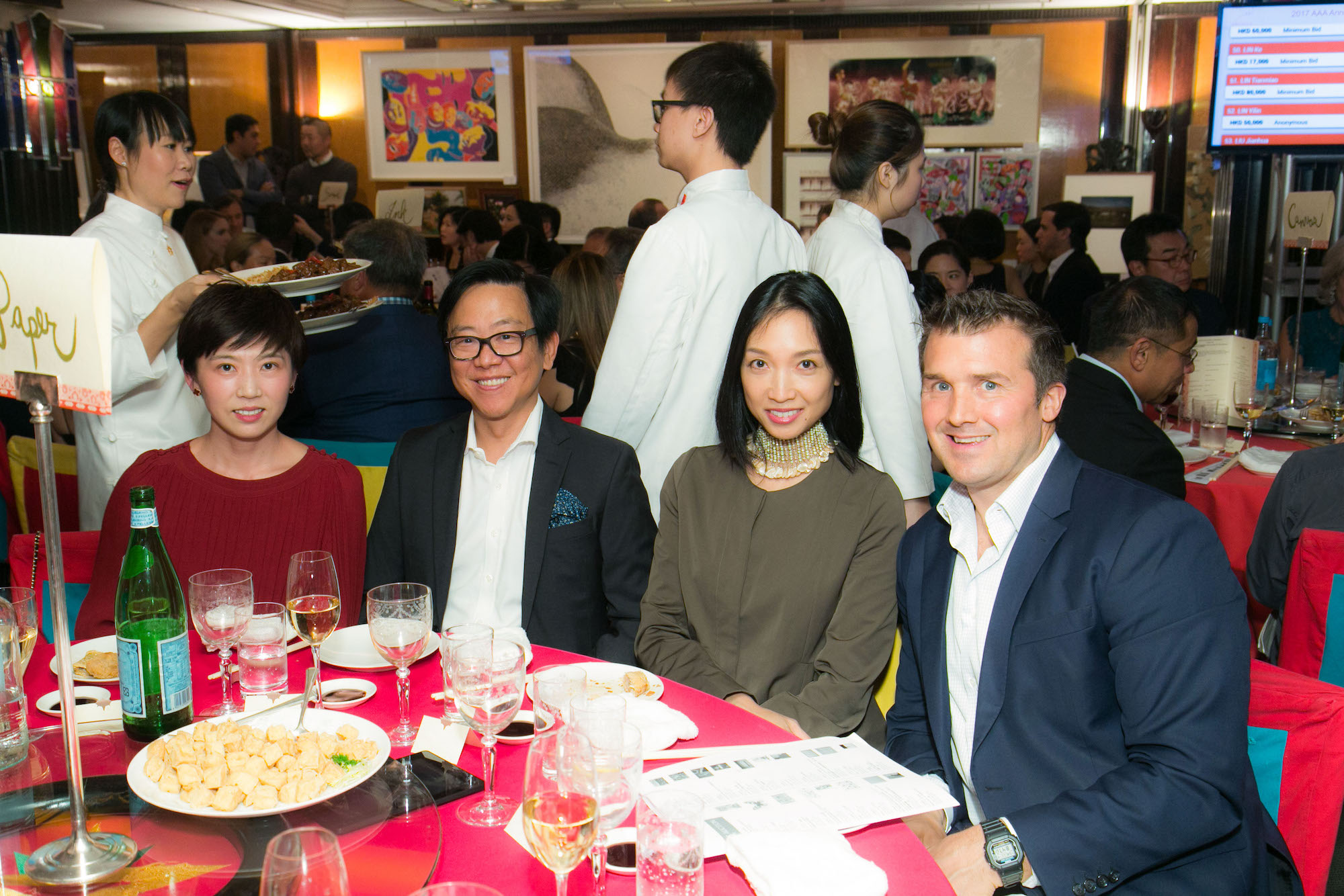 Crystal Chen, William Lim, Ann Cha, Tom Morrow