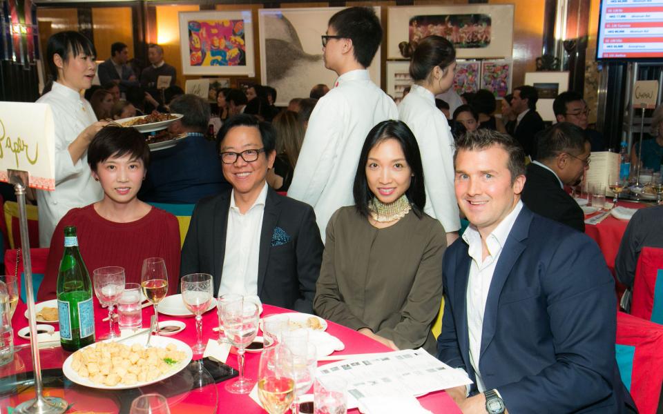 Crystal Chen, William Lim, Ann Cha, Tom Morrow