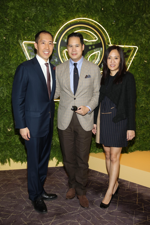 Darryl Ng, Brandon Chau, Jenny Chau