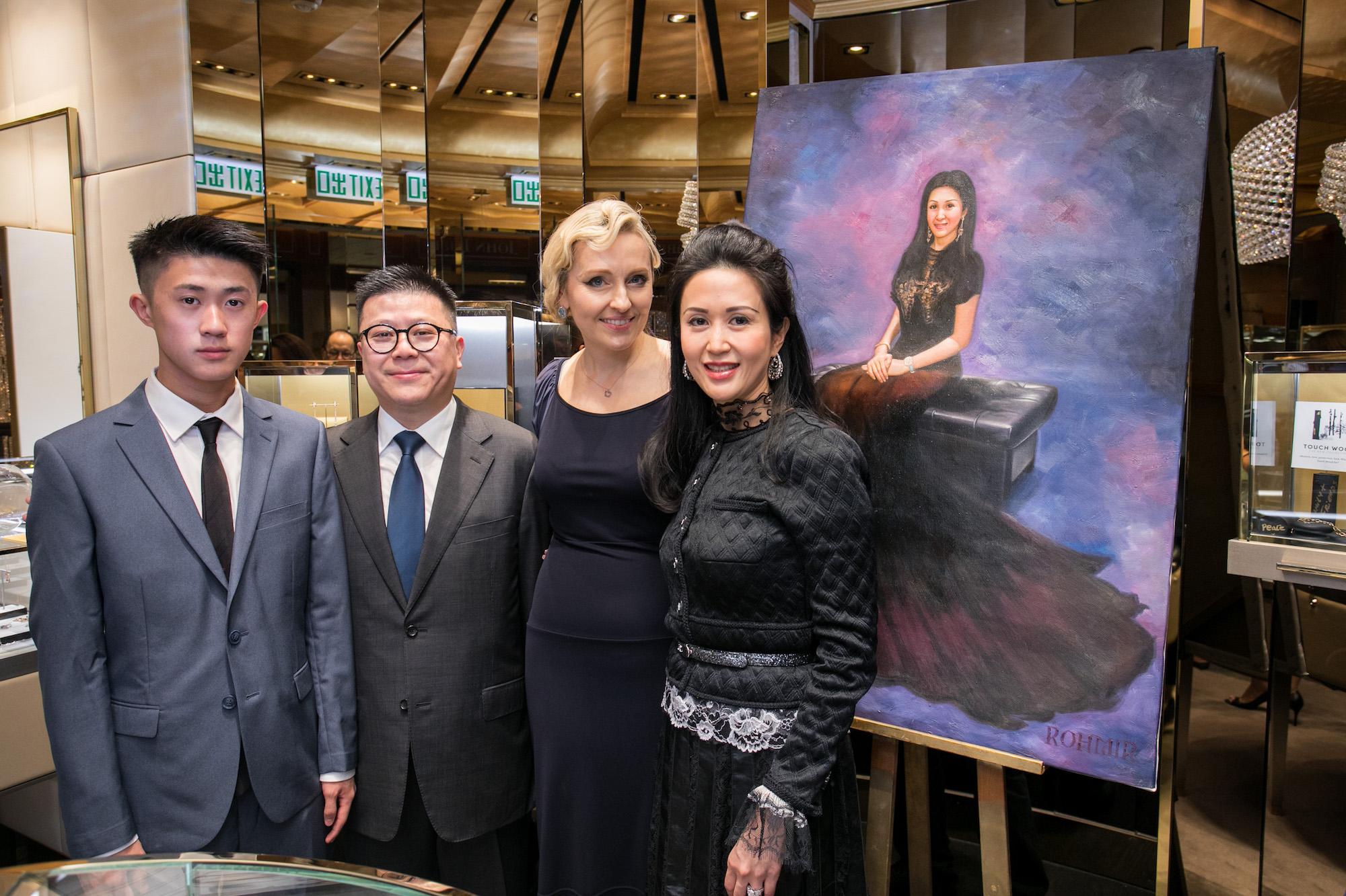 Edward Lam, Matthew Lam, Olga Roh, Lianne Lam